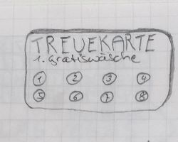 Treuekarte Version A
